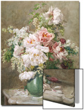 Still Life of Peonies and Roses