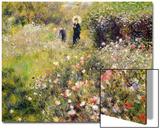 Paysage d'été Acrylique par Pierre-Auguste Renoir