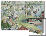Crayfishing  from 'A Home' Series  C1895