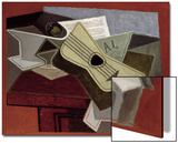 Guitar and Newspaper  1925