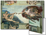 The Sistine Chapel: Creation of Adam  1510