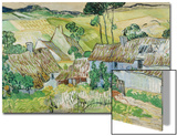 Farmhouses at Auvers  1890