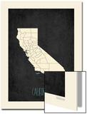 Black Map California