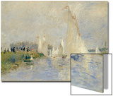 Regatta at Argenteuil, 1874 Acrylique par Pierre-Auguste Renoir