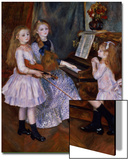 The Daughters of Catulle Mendes at the Piano  1888
