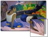 Pleasures of the Evil Spirit  (Arearea No Vareua Ino)  1894