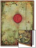 Ad Marginem, 1930 Acrylique par Paul Klee