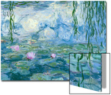 Waterlilies  1916-19 (Detail)