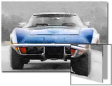 1972 Corvette Front End Watercolor