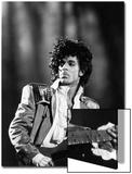 Prince, Concert Performance, 1984 Photo Acrylique par Vandell Cobb