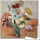 Roses et anemones