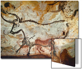Cave of Lascaux  Great Hall  Left Wall: Second Bull  Below: Kneeling Red Cow  C 17 000 BC