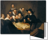 The Anatomy Lesson of Dr Nicolaes Tulp  1632