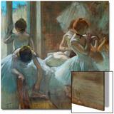 Dancers at Rest, 1884-1885 Acrylique par Edgar Degas