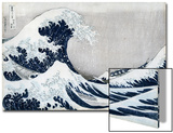 The Great Wave of Kanagawa  from the Series '36 Views of Mt Fuji' ('Fugaku Sanjuokkei')