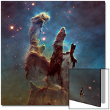 Images of the 'Pillars of Creation' in the Eagle Nebula Acrylique par NASA