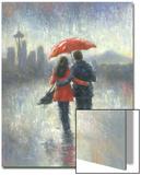 Seattle Lovers in the Rain