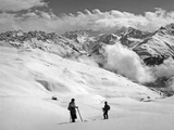 Skier Near Arosa