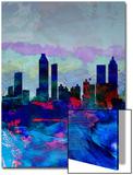 Atlanta Watercolor Skyline