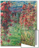 The House at Giverny under the Roses; La Maison Dans Les Roses  1925