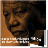 Nelson Mandela Quote iNspire 2 Motivational Poster