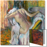 After the Bath, C. 1890 Acrylique par Edgar Degas
