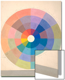Rudolph Schaeffer  Color Wheel; Archive of American Art