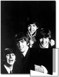 Ringo Starr  George Harrison  Paul McCartney and John Lennon of the English Rock Group the Beatles
