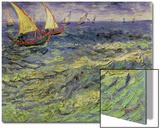 Seascape at Saintes-Maries, c.1888 Acrylique par Vincent Van Gogh