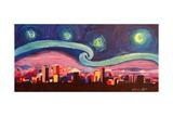 Starry Night in Denver Van Gogh Inspirations