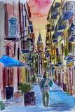 Fascinating Palermo Sicily Italy Street Scene
