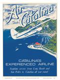 Santa Catalina Island  California - Grumann Goose Airplane - Air Catalina Airline