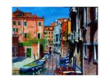 Venice Canal  Dorsoduro  August 2016