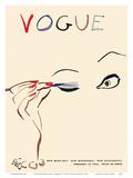 Vogue Magazine Cover - February 15, 1935 Reproduction d'art par Carl Erickson