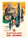 Africa - Crossroads of History (L'Afrique par…Carrefour de l'Histoire) - Air Algérie Airline