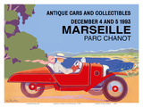 Marseille  France - Antique Cars and Collectibles - Le Parc Chanot Center - Cyclecar Morgan