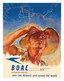 USA to Australia - by the Speedbird Routes - BOAC (British Overseas Airways Corporation)