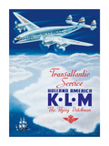 KLM Transatlantic Service - Holland America - KLM Royal Dutch Airlines