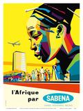 Africa by Sabena (l'Afrique par Sabena) - Sabena Belgian World Airlines
