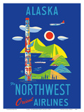 Alaska - Fly Northwest Orient Airlines