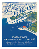 Santa Catalina Island  California - Grumann Goose Airplane - Air Catalina Airline