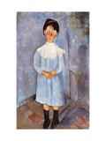 Girl in Blue  1918