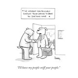 """""""I'll have my people sniff your people"""" - Cartoon"""