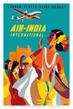 London  Geneva  Cairo  Bombay - Air India International