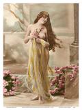 Classic Vintage Hand-Colored Nude Art - Beautiful Belle Époque Erotica