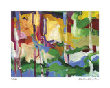 Abstract Grove 1 Édition limitée par Barbara Rainforth