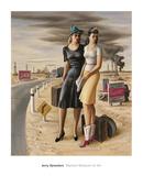 Oil Field Girls  1940