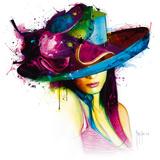 La Jeune Fille au Chapeau Reproduction d'art par Patrice Murciano