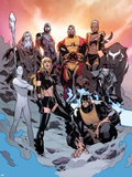 All-New X-Men No 17: Sentinel  Colossus  Kymera  Iceman  Jubilee  Magik  Beast  Phoenix