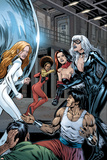 Heroes For Hire No7 Group: Black Cat  Knight  Misty  Tarantula  Shang-Chi  Wing and Colleen